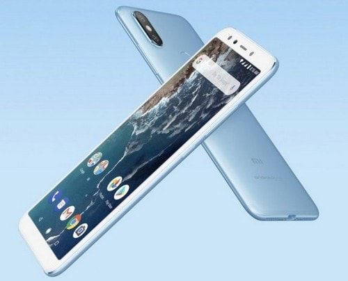 Дизайн телефона Xiaomi Mi A2